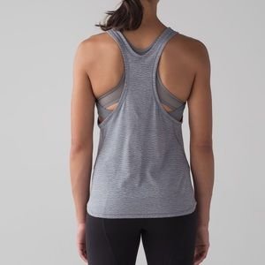 Lululemon Glide and Stride Tank Arctic Grey